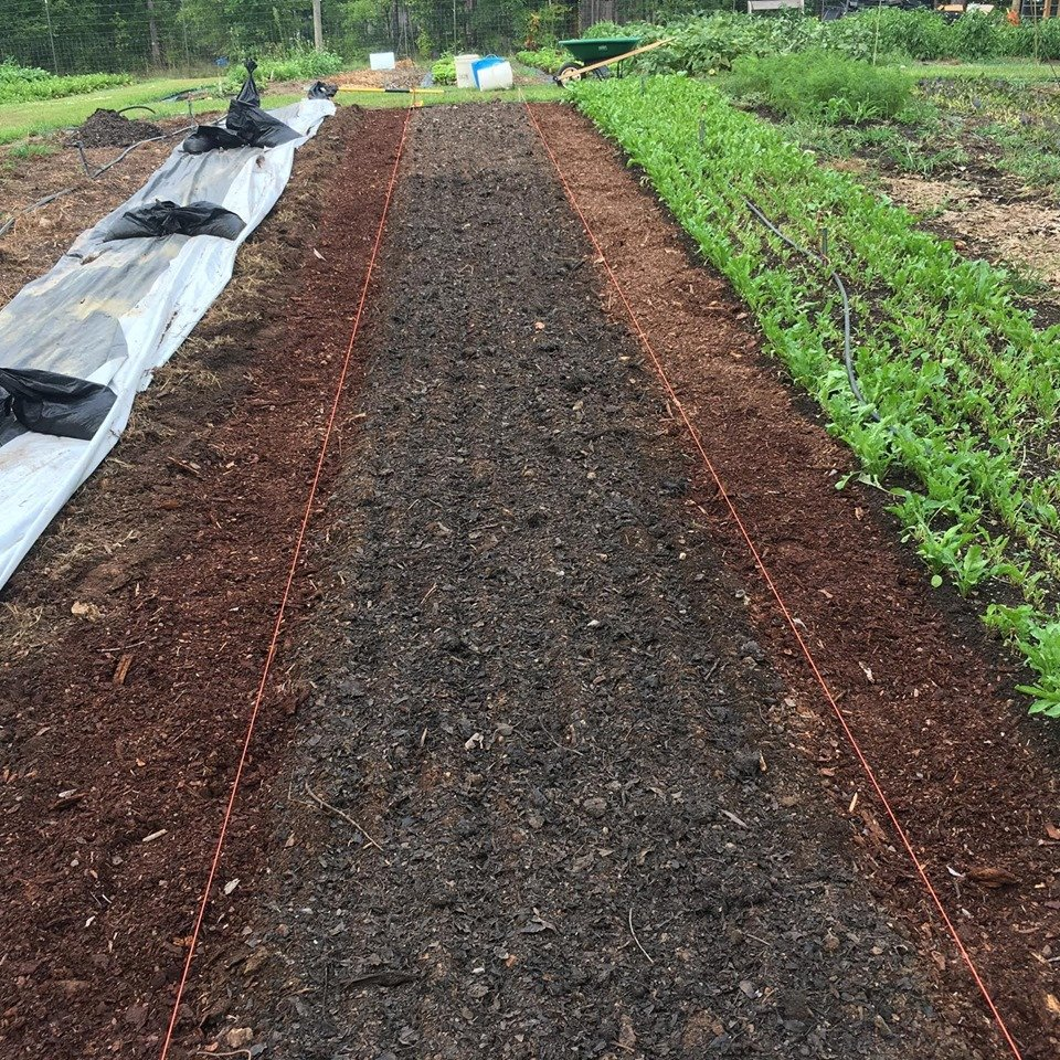 Flipping Beds for Fall Planting!