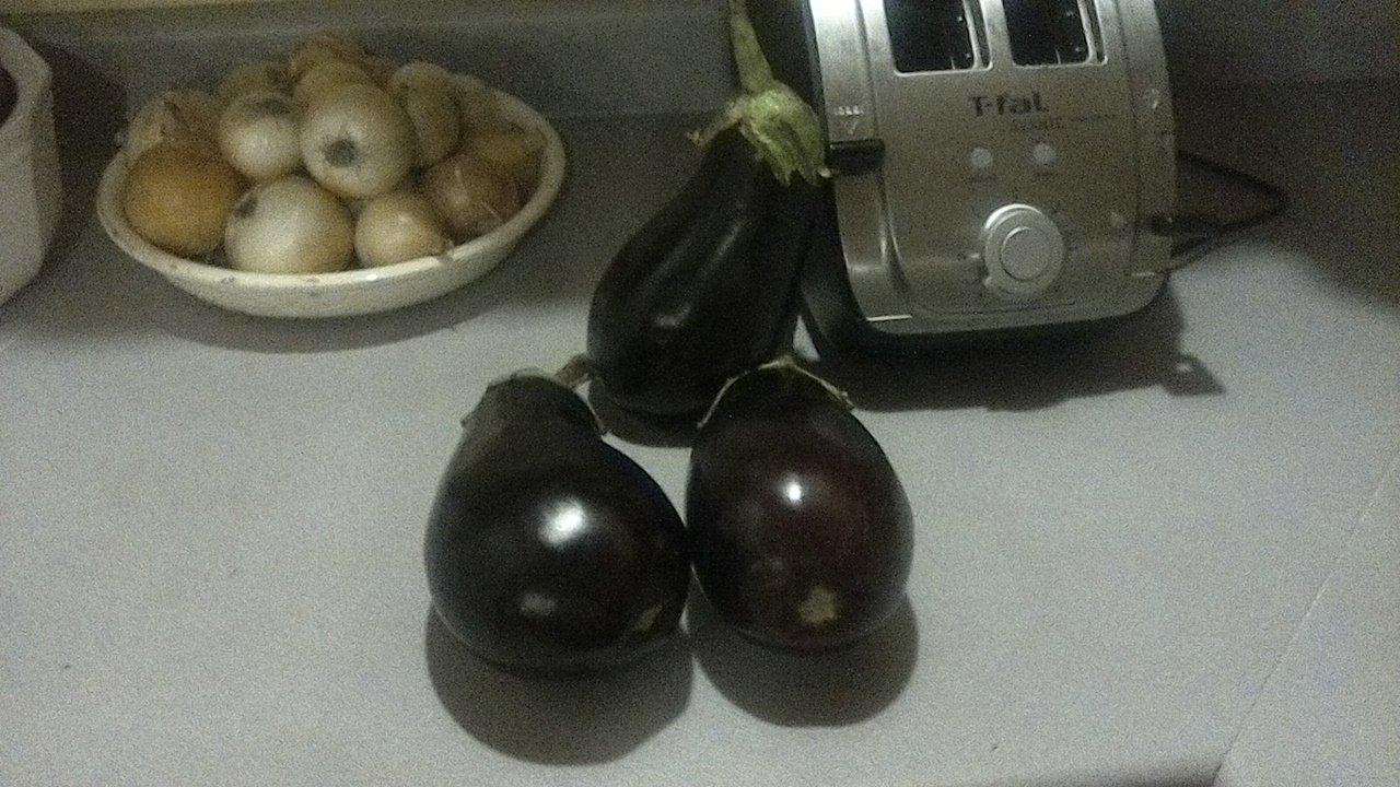 Eggplant Solution ---- Baba Ganoush!