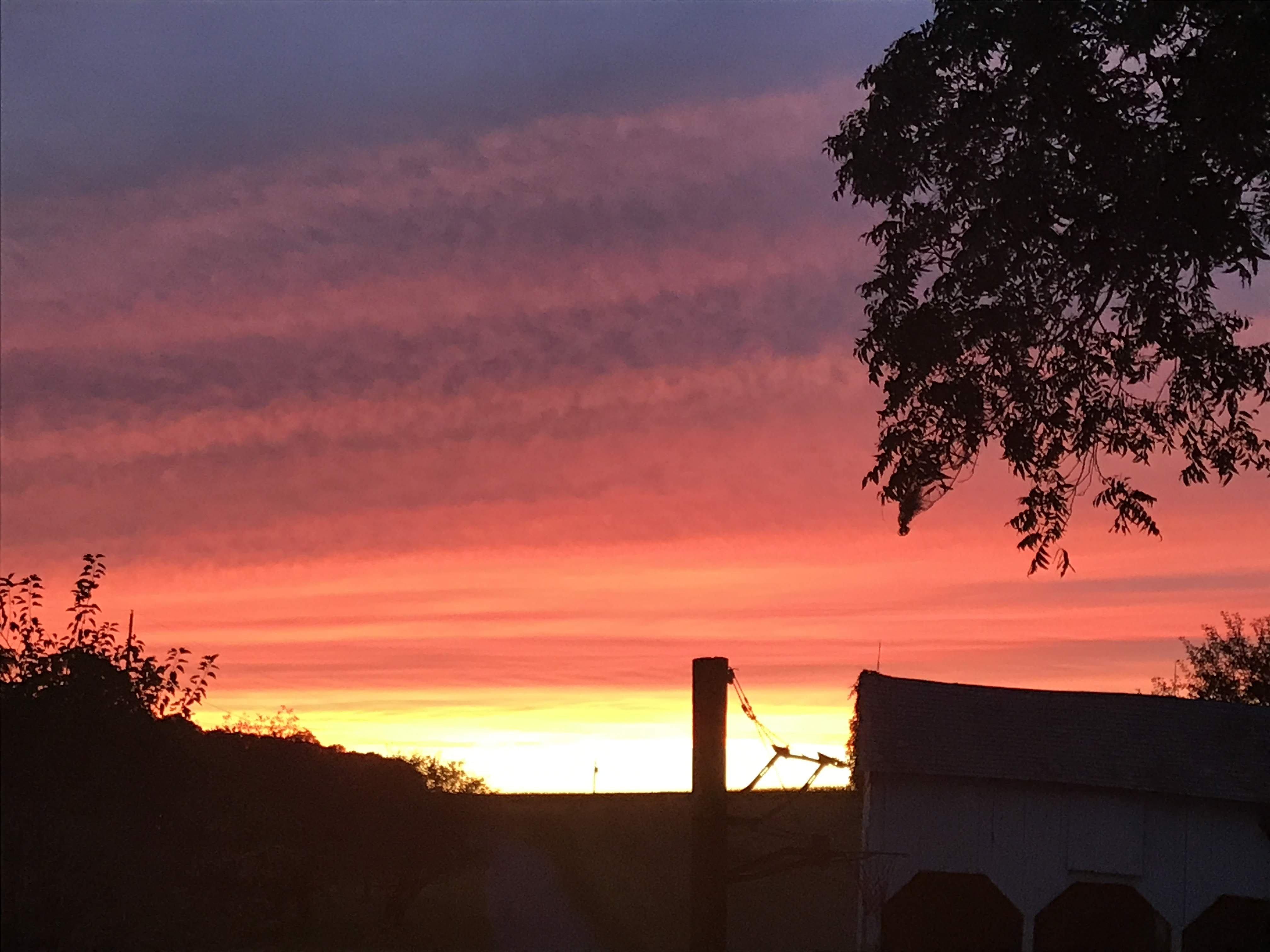Sunsets & Fieldwork