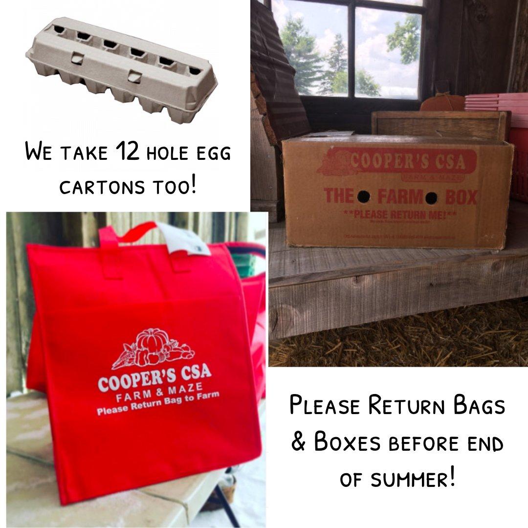 Week 17 Summer 2019 Vegetable Share- Cooper's CSA Farm Happenings