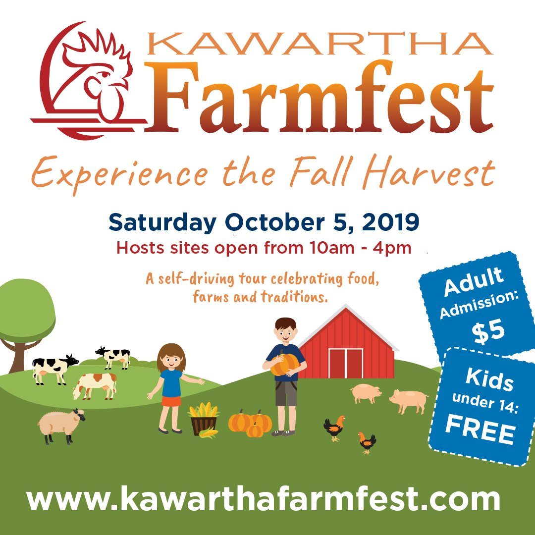 Farm Happenings for the week of October 8, 2019- Celebrating the Fall Harvest with you!
