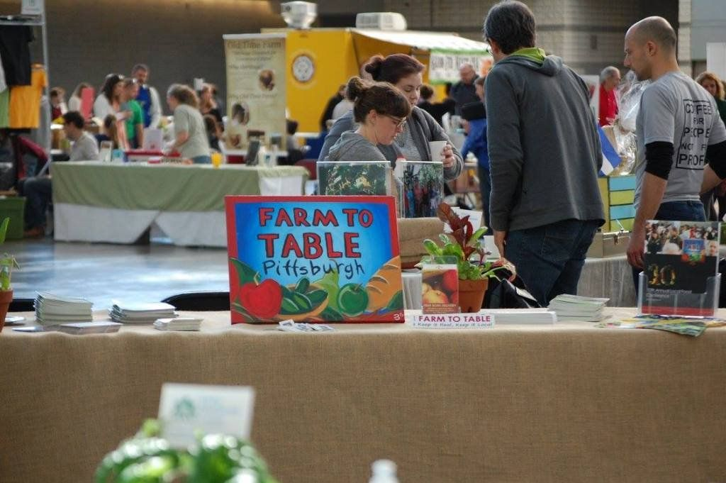 Farm to table conference delivery