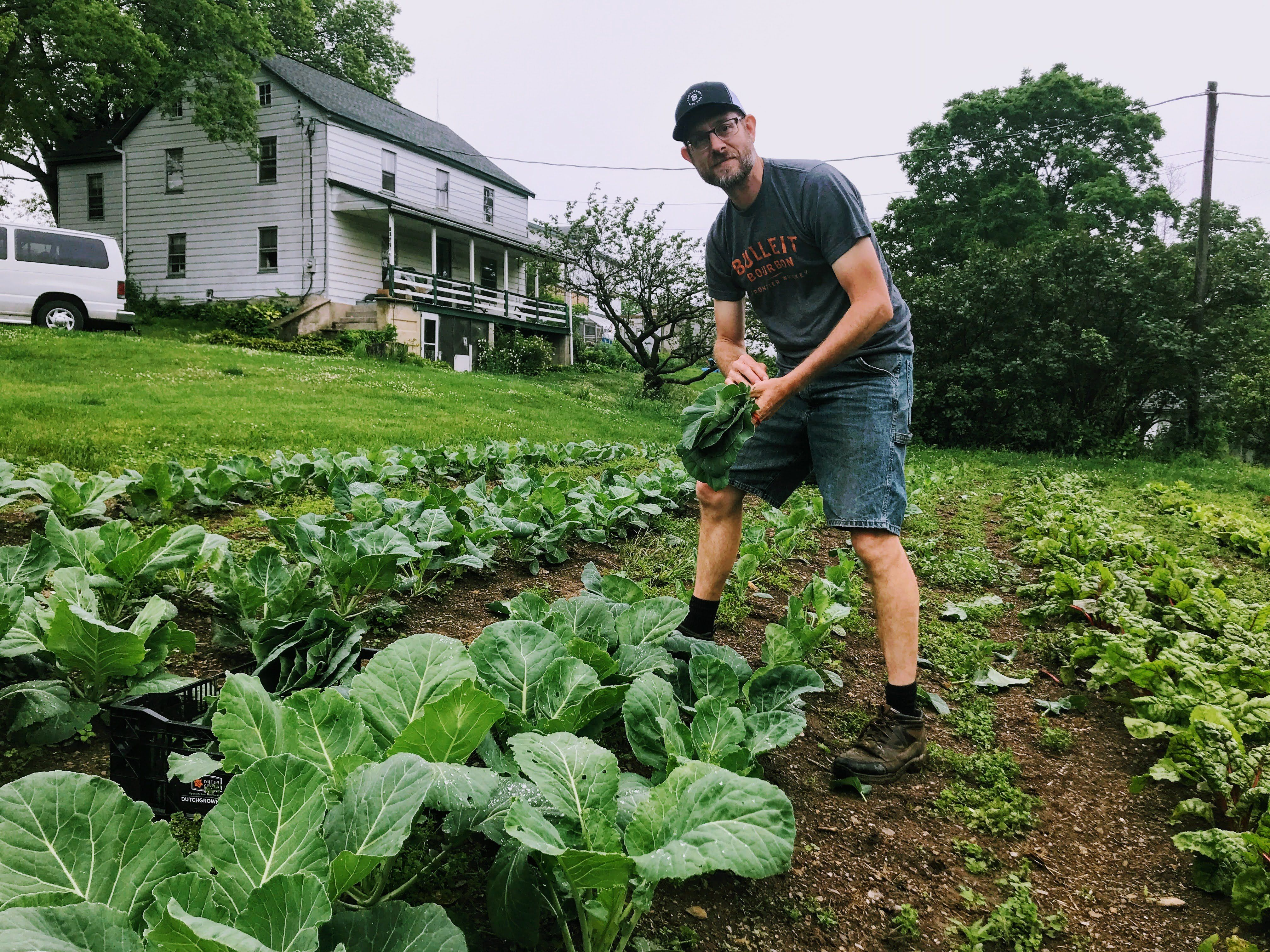 Farmer learns how to save veggies from the bugs