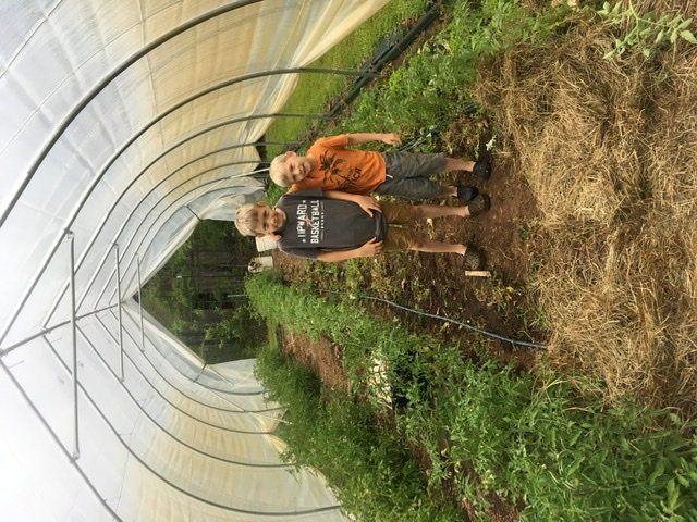 Big (little) helpers on the farm