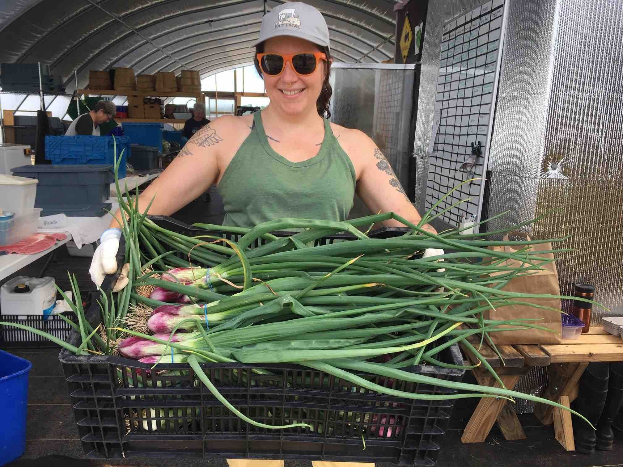 Previous Happening: The Faces Behind the Food:  Keepin' it Fresh with Amelia