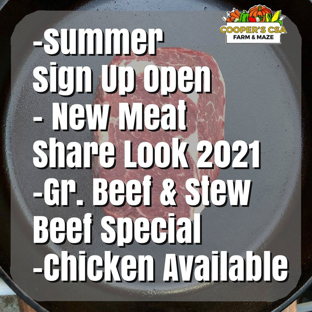 Winter/Spring Meat Share 2020-2021-Coopers CSA Farm Happenings