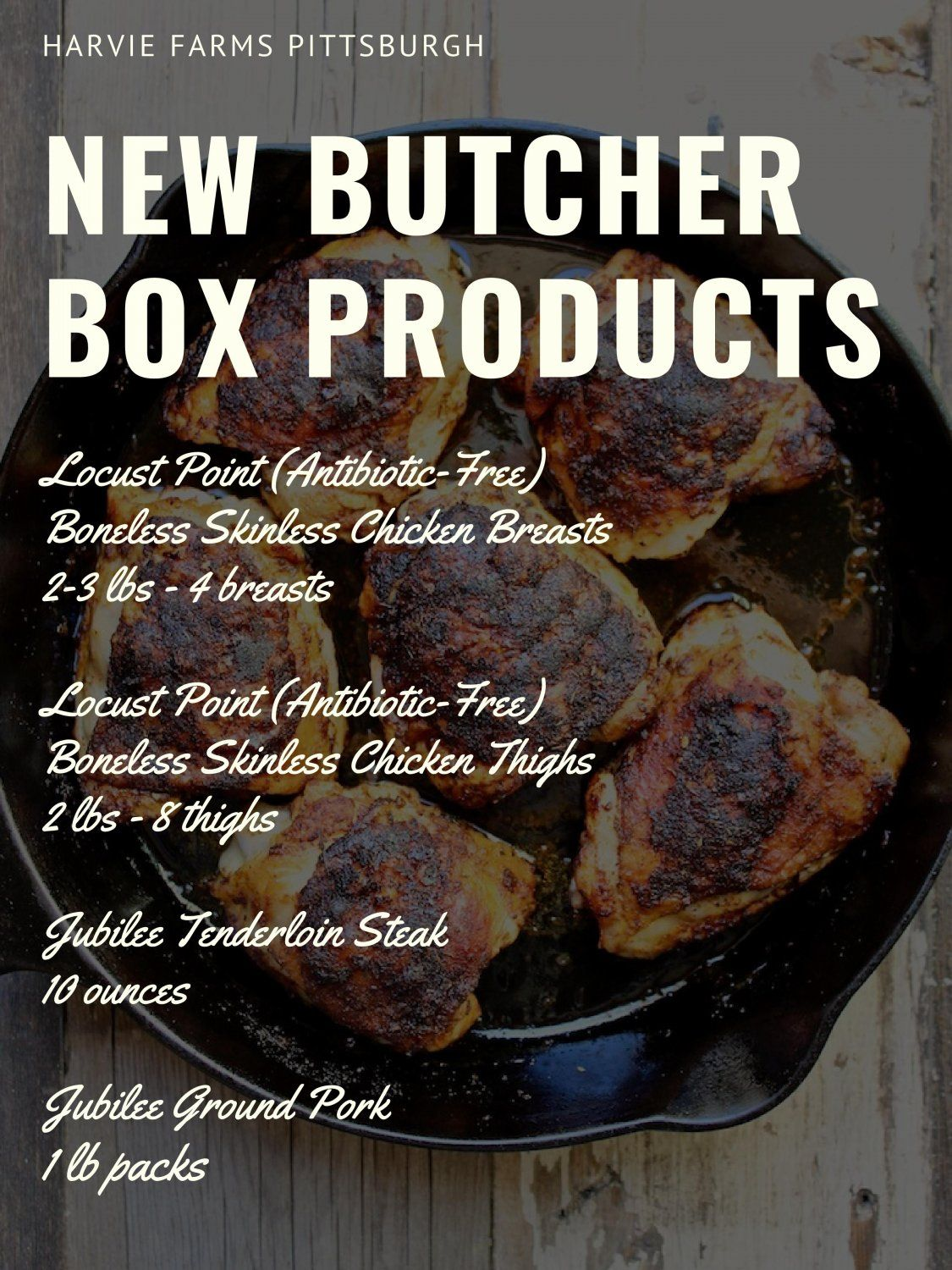 Butcher Box Happenings for Week of February 22nd, 2021