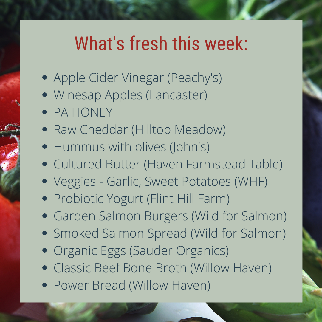Great local farm food for your Snow Days!