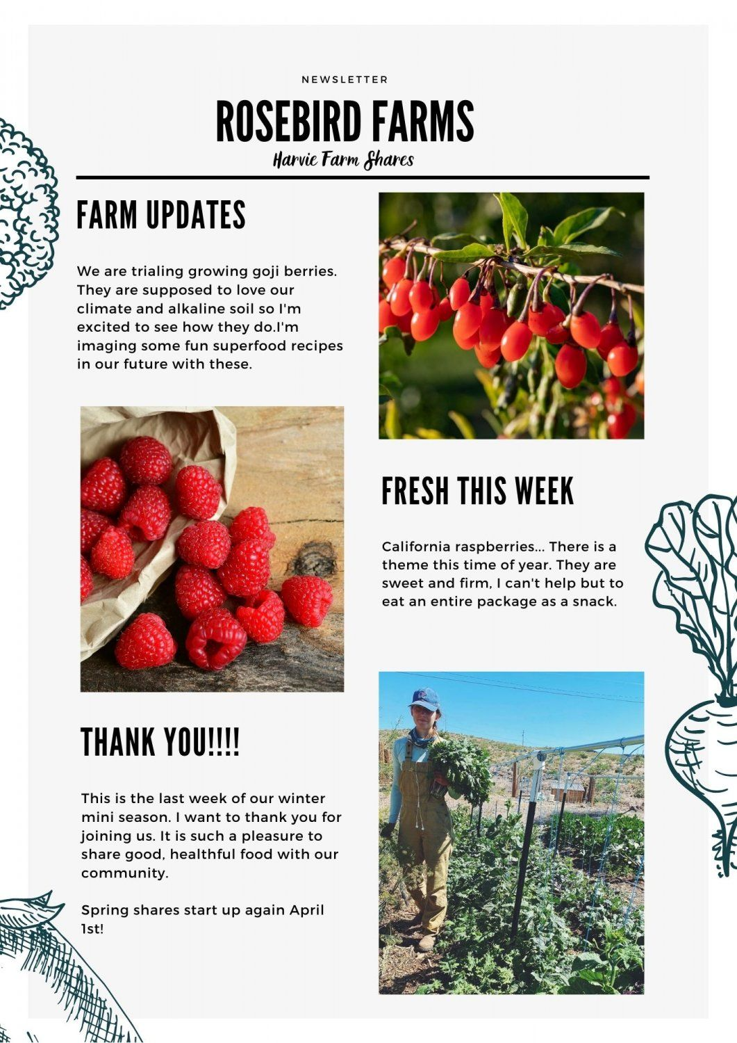 Next Happening: Farm Happenings for March 11, 2021