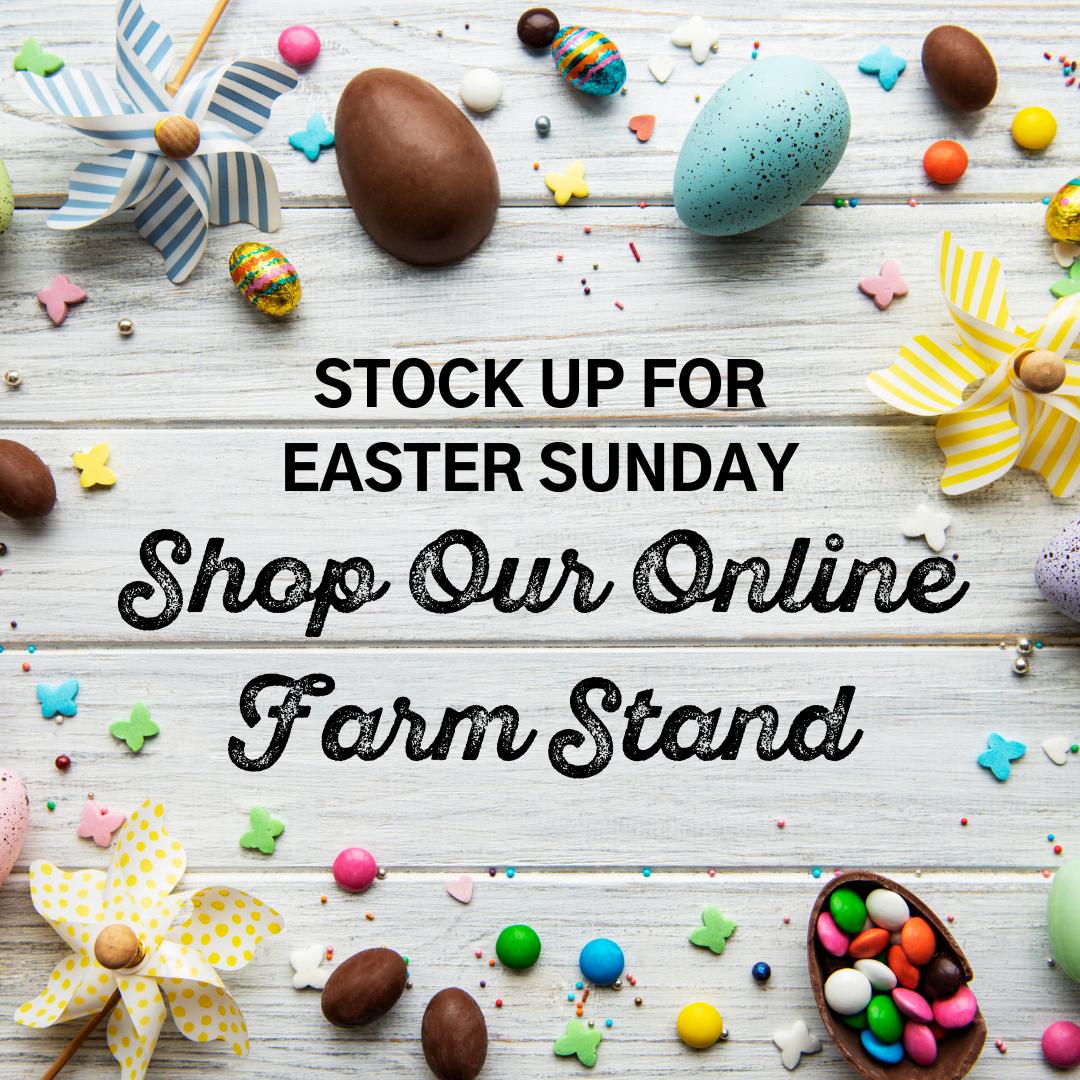 Online Farm Stand: April 1-3, 2021