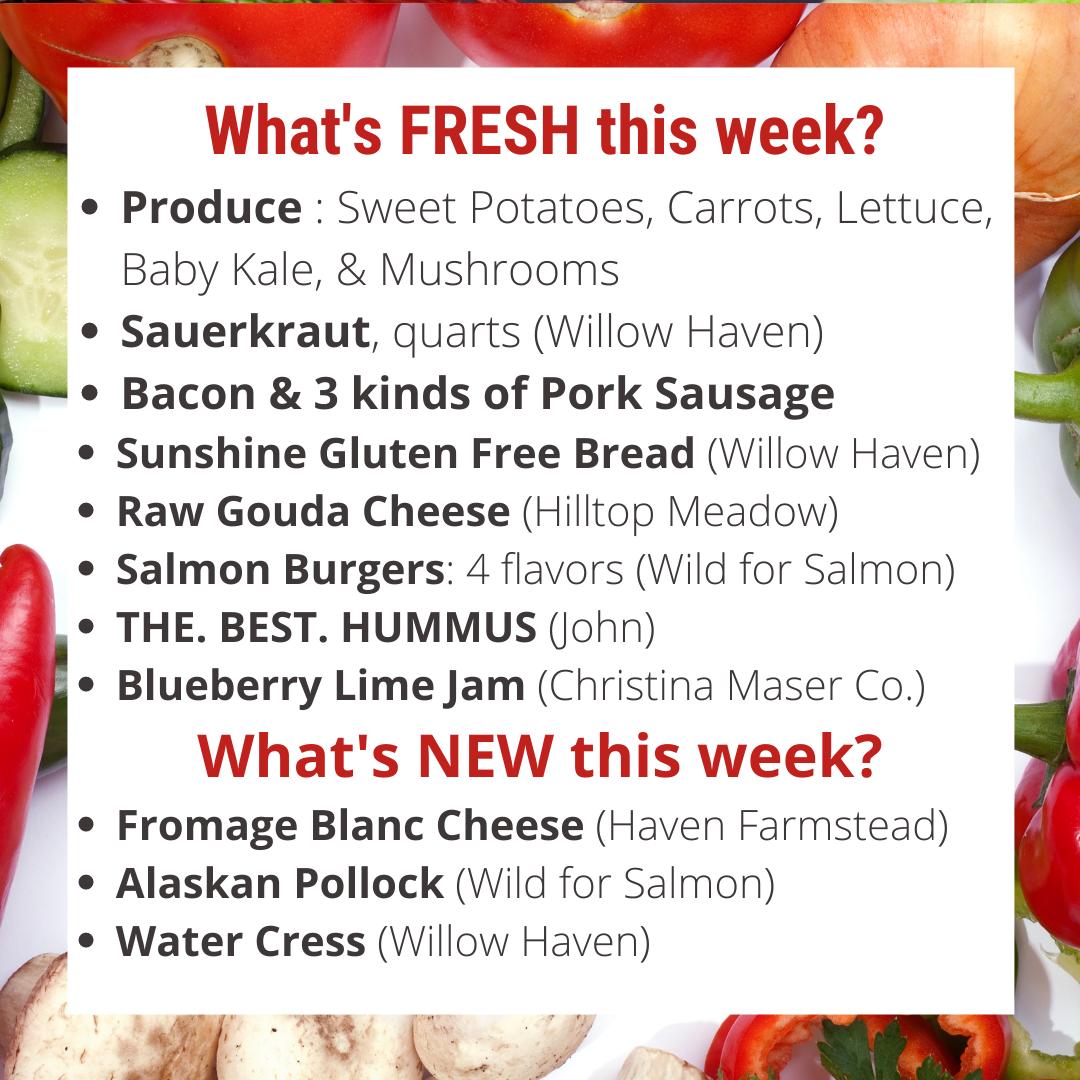 Farm Market is open TOMORROW + Fresh Baked Bread