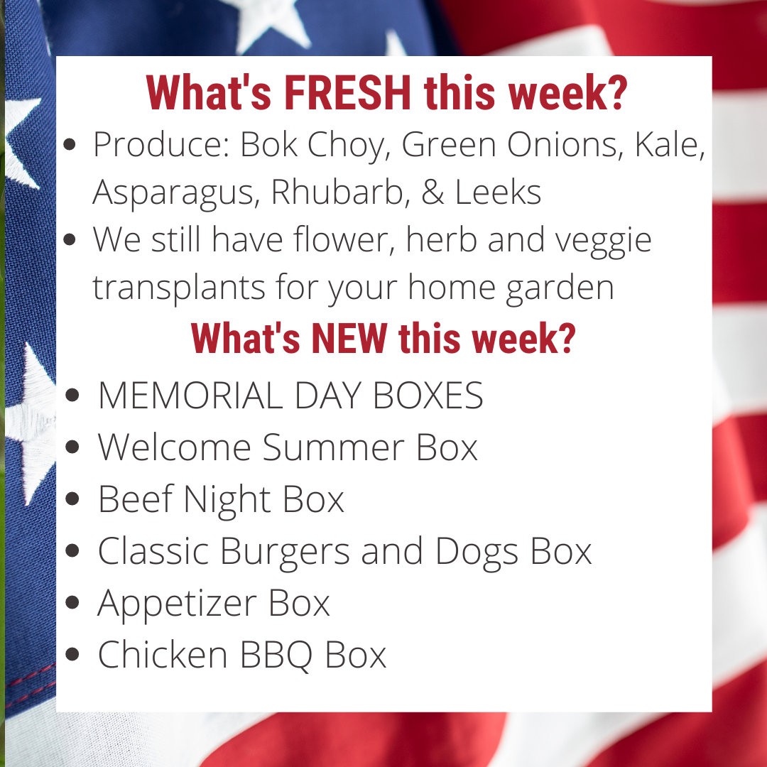 Memorial Day Boxes are HERE....Be the first to order your box!