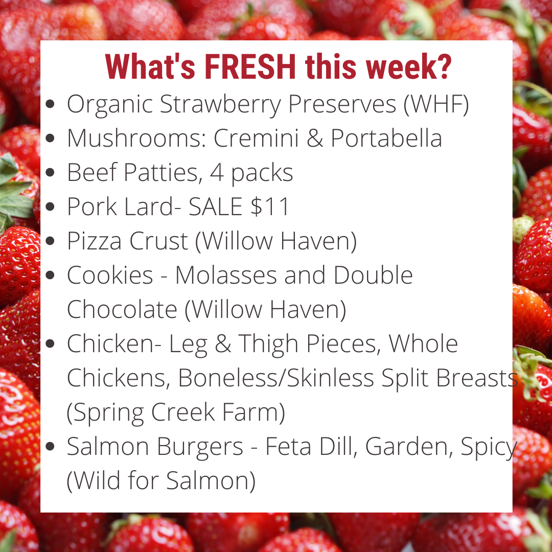 Organic Strawberry Preserves are here + Upcoming Farm Events