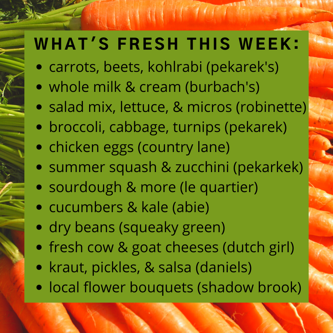 Online Farm Stand: July 15-16, 2021
