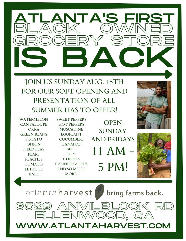 Next Happening: Soft Opening Sunday Aug 15th!!