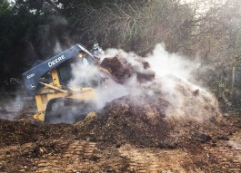 Making Compost On The Farm