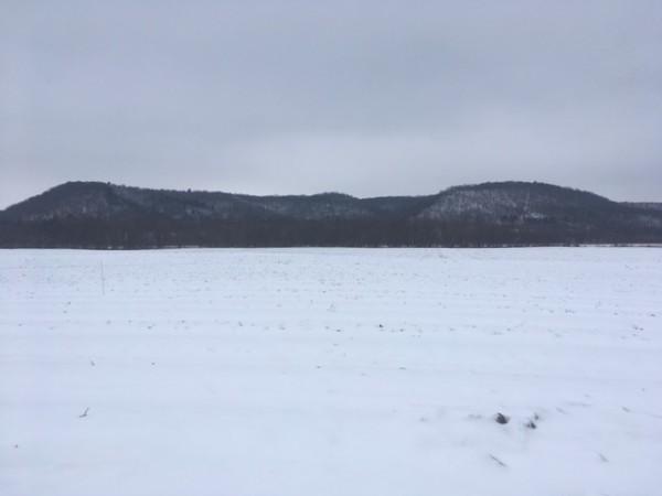 Week 4:  Snowy Farm Fields!