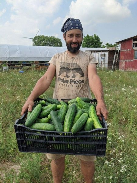 Farm Share Week 6 - RAIN!