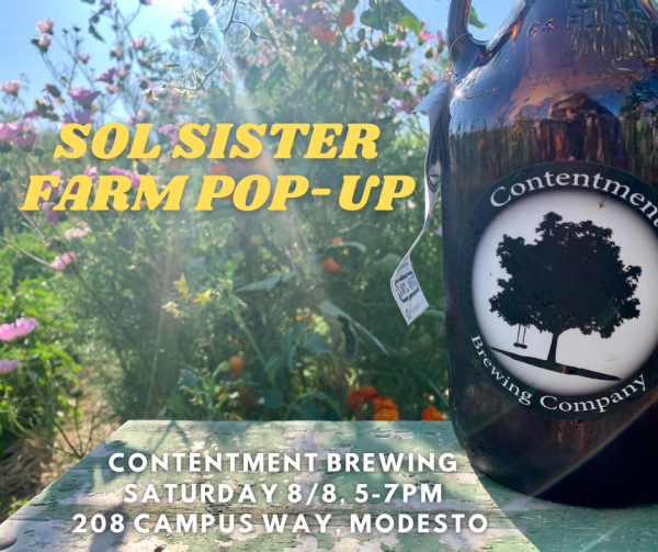 Sol Sister Farm @ Contentment Brewing this Saturday!