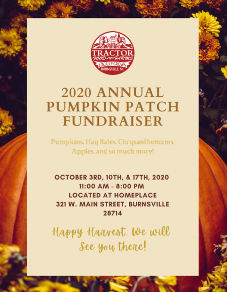 TRACTOR CSA Week 18 - October 1, 2020
