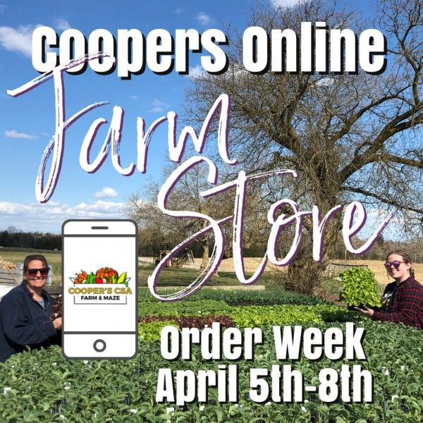 Coopers CSA Online FarmStore- Order week April 5th-8th